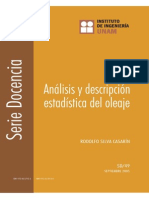 Analisis y Descripcion Estadistica Del Oleaje - SERIES II-UNAM