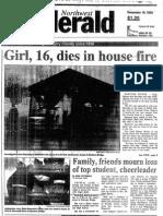 1993 murder of Crystal Lake Central cheerleader Beth Bosworth