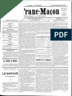 1885 - Le Franc Maçon n°13 -  19-26 décembre 1885 - 1ère année.pdf