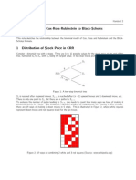 Cox-Ross-Rubenstein binomial option