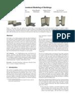 Procedural Modelling of Buildings