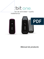 Fitbit One Product Manual - Spanish