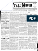 1885 - Le Franc Maçon n°6 - Samedi 31 Octobre au Samedi 7 Novembre 1885 - 1ère année.pdf