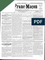1885 - Le Franc Maçon n°8 - 14-21 Novembre 1885 - 1ère année.pdf