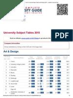 University of Design Uk