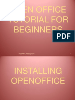 12.How to Use Open Office Tutorial