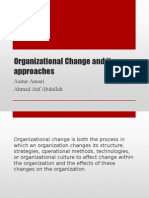 Organizational Change and Its Approaches