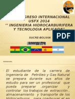 USFX 2014 SUCRE - BOLIVIA