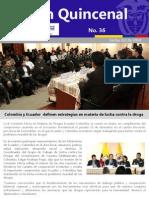 Boletín Embajada de Colombia en Ecuador