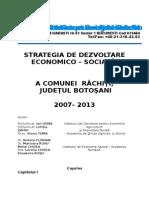 STRATEGIA DE DEZVOLTARE  ECONOMICO – SOCIALĂ.doc
