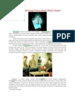 3D Hologram Teknologi Komunikasi Masa Depan