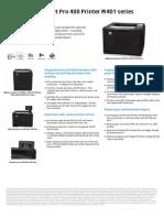 HP LJ Pro M401 Brochure