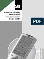 RCA RCU1010 Universal Remote Control Manual