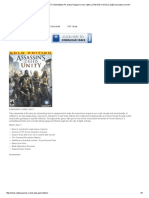 Assassin's Creed Unity Gold Edition Pc Game Repack is Here ! [Incl Update v1