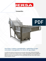 Maquinaria Jersa Lavadoras Ficha Tecnica Lavadora Tipo Inmersion 834717