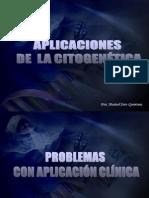 Aplicaciones de La Citogenetica