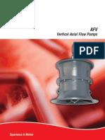 AFV Vertical Axial Flow Pump