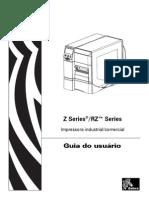 Manual Impressora Zebra Zm