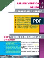 FORMAS DE DESARROLLO URBANO