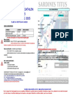 Bulletin d'Inscription Sardines Titus Triathlon 2015