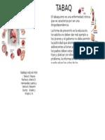 folleto de tabaquismo