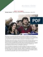 2011 10 05 El Movimiento Estudiantil y Los Cambios. Giorgio Jackson