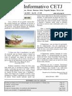 Informativo Mensal do CETJ