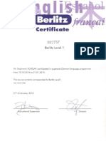 Stojanovic Vojislav German Level 1 Berlitz