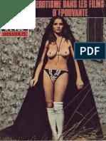 L Erotisme Dans Les Films d Epouvante
