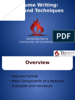 resume writing pp