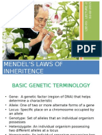 2-Mendel's Laws of Inheritence