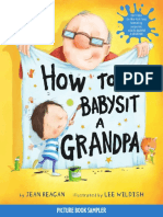 How To Babysit a Grandpa by Jean Reagan; Illustrated by Lee Wildish