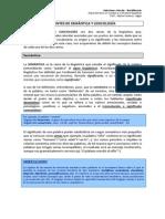 APUNTES de Semántica y Lexicología