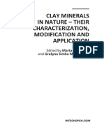 Clay Minerals in Nature - Their Characterization Modification and Application