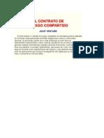 El Contrato De join venture