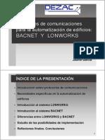 Protocolo Bacnet y Lonworks