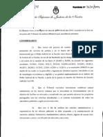 Acordada CSJN 3-2015