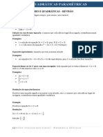 Equacoes Lineares Quadraticas Revisao