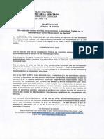 Decreto Modificacion Jornada de Trabajo