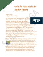 La Historia Sailor Moon