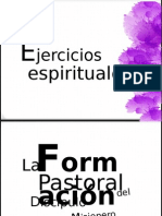 Ejercicios espirituales 2015