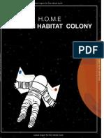 MARS HABITATION COLONY