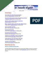 Cooler Heads Digest 20 February 2015