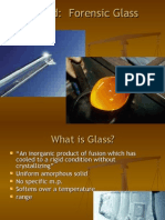 Analysis Shattered Forensic Glass