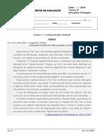 1º Teste-notícia e Texto Expositivo -6º Ano