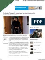 27-02-15 Defiende Senadora Marcela Guerra preinspección
