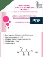 clorhidrato de metforminda