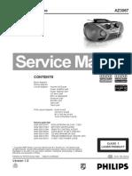 Philips Az3067 CD Soundmachine Sm