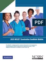 2015 NCLEX Candidate Bulletin