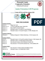 Plymouth County 4-H Newsletter - Winter 2014